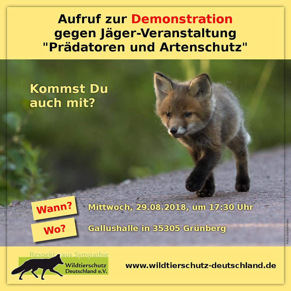 Tierschutzdemo Oberhessen