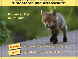 Tierschutzdemo in Grünberg/Oberhessen