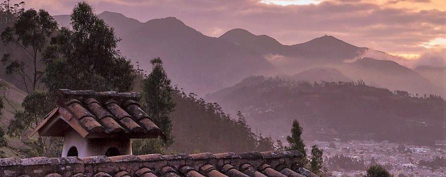 Otavalo at Sunset