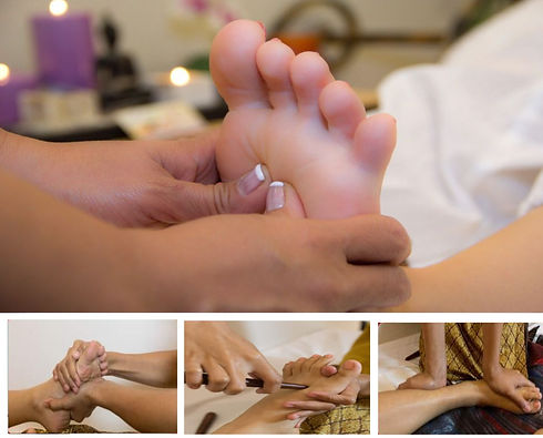 thai foot massage positions