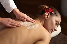 thai body scrub