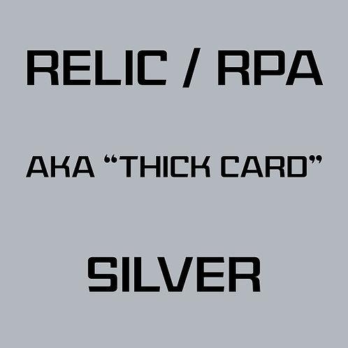 RPA / Relic Silver Card Services