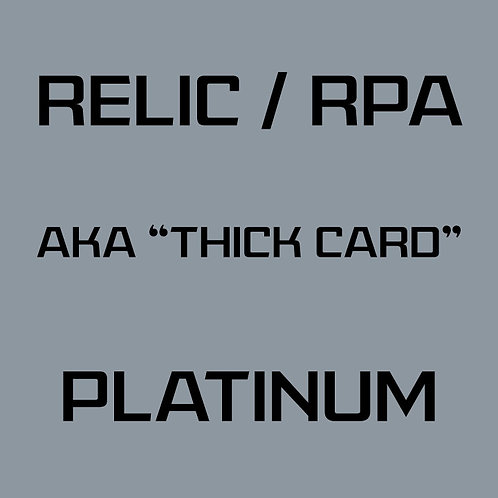 RPA / Relic Platinum Card Services