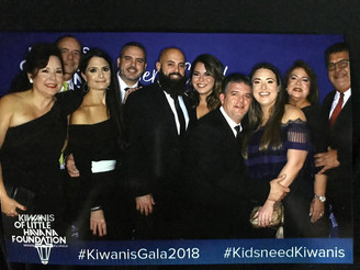 Kiwani's Gala 2018, For Children of Miami Dade County to Learn, Dream, Succeed