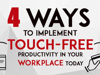 Turn Your Workplace into a Touch-Free Environment With Our Intelligent Technology