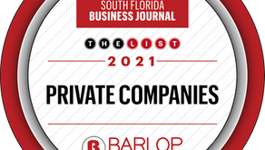 Barlop  Spotlighted in South Florida Business Journal