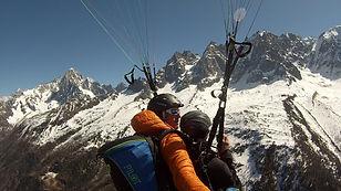 Parapente Chamonix