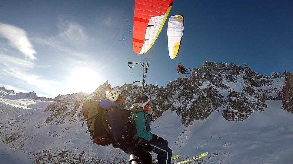 Fly Mont blanc parapente