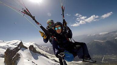 Parapente Chamonix Mont blanc