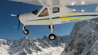Vol photos ULM dans le massif du Mont Blanc