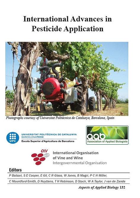 Aspects 132: International Advances In Pesticide Application