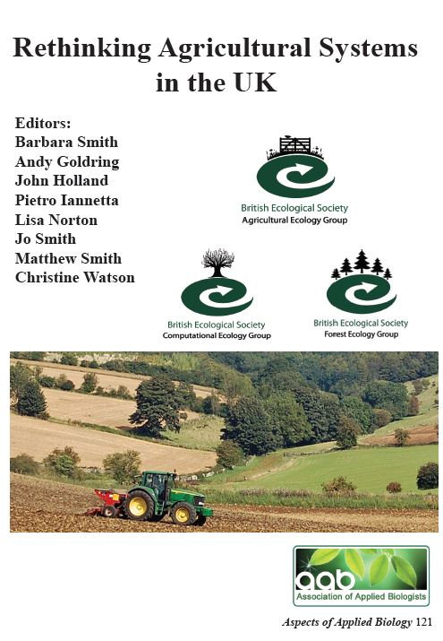 Aspects 121: Rethinking Agricultural Systems In The UK
