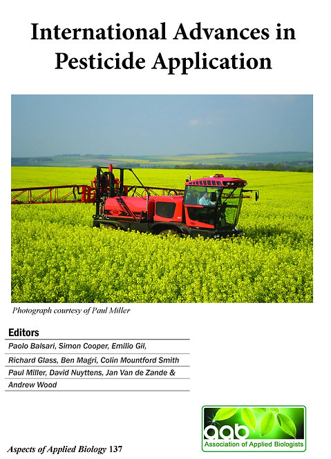 Aspects 137: International Advances in Pesticide Application 2018