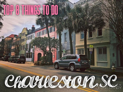 Top 8 Things to do in Charleston, SC