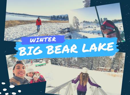Winter Wonderland in Big Bear Lake