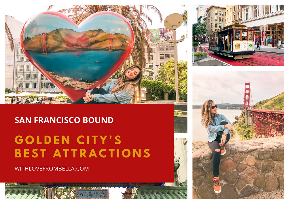 San Francisco travel collage