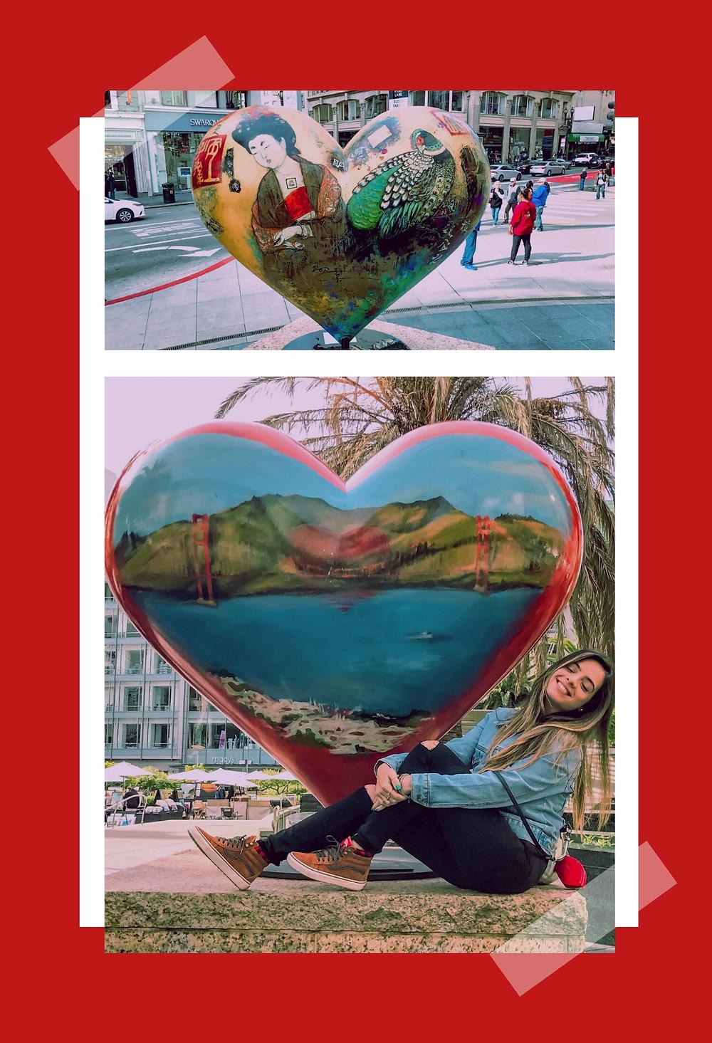 San Francisco union square photo collage