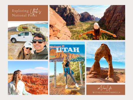 #VanLife - Exploring Utah's National Parks