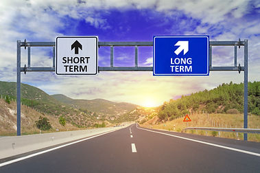 Two options Short Term and Long Term on