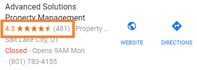 property manager with good reputation-mi