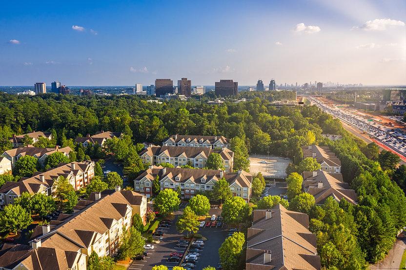 Condos in Atlanta suburbs just next to H