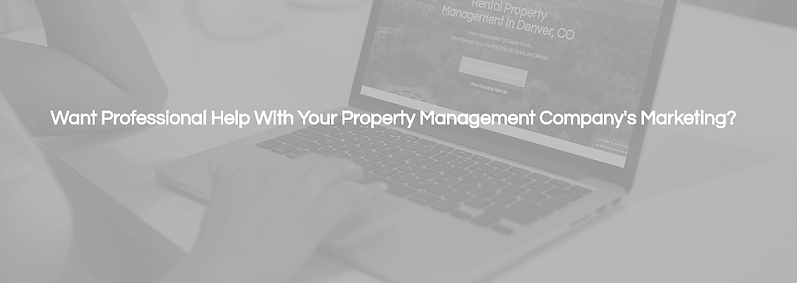 professional marketing help for property