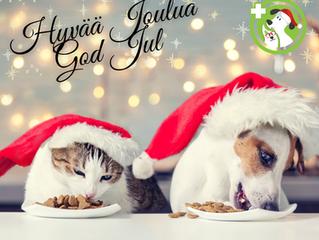Joulun aukioloajat / Julens öppetider: