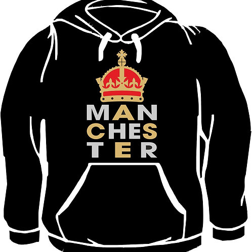 Manchester Printed Hoody