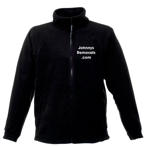 Fleece Jacket with Embroidered Text