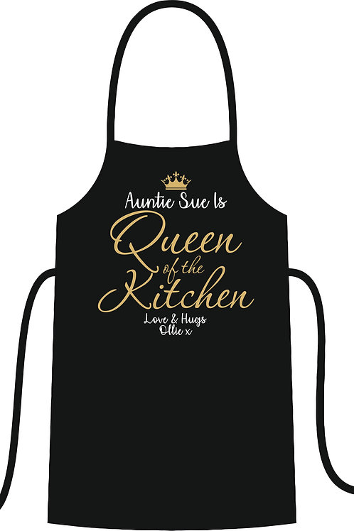 Queen of Kitchen Apron
