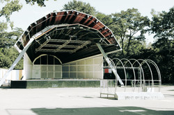 Abandoned Stage, Location: Unknown