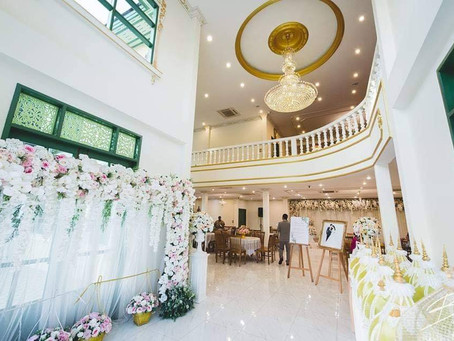 วิภาวดีพาเลซ สถานที่จัดงานแต่งงานสวยๆ ใจกลางกรุงเทพฯ