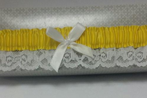 Yellow Lace Garter