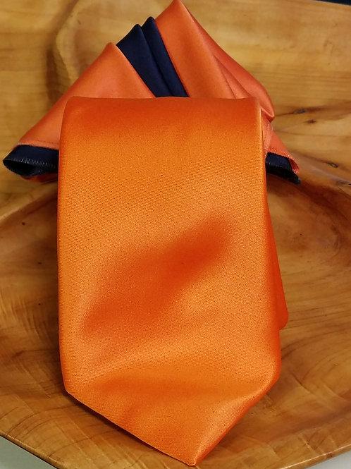 Mandarin Orange Tie Gift Set