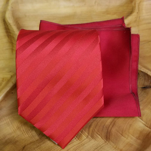 Red Self Tie Gift Set