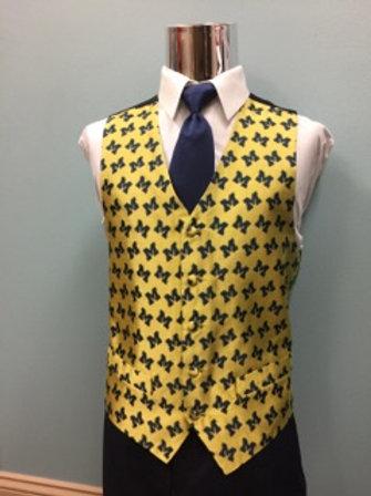 Michigan Vest and Tie set