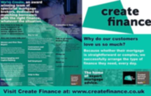 Create Finance Webvert
