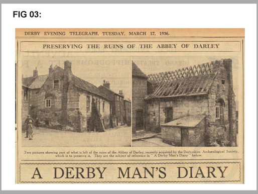 DARLEY ABBEY A SHORT HISTORY AND PRESERVATION OF ITS REMAINS