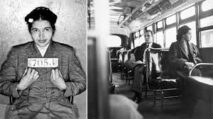 Image of Rosa Parks an international hero