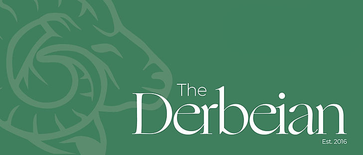 The Derbeian Magazine Logo