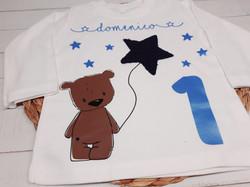 Geburtstagsshirt Bär