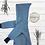 Handmade Walk-Overall Wollwalk Zipfelkapuze lillegroen