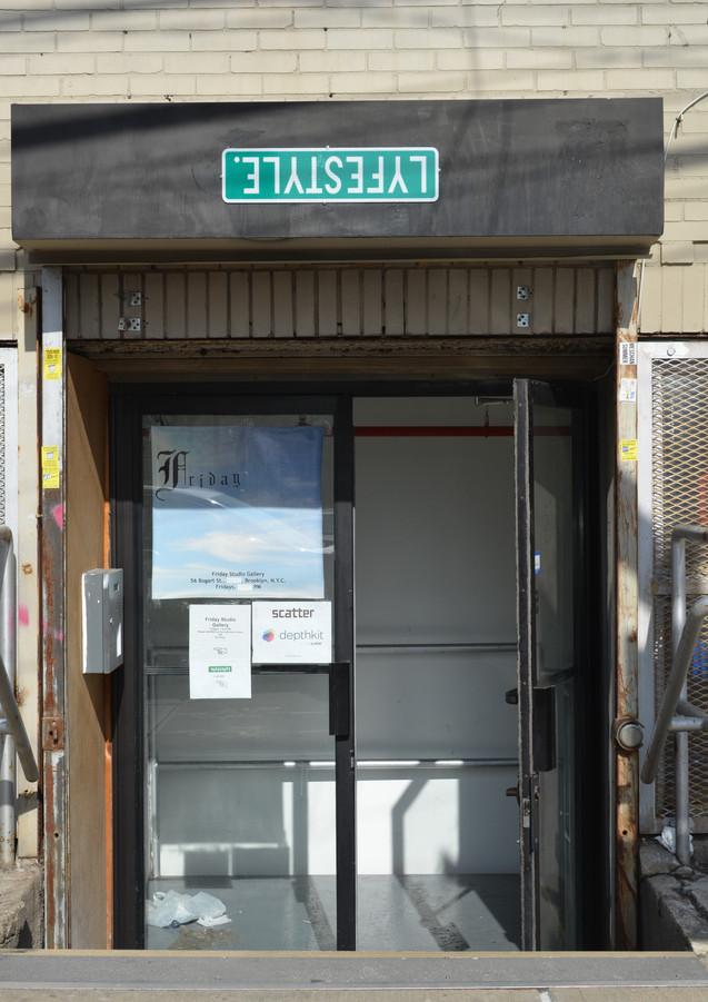 56 Bogart Street Entrance