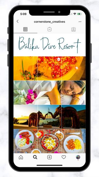 CSC Baliku Dive Resort Grid