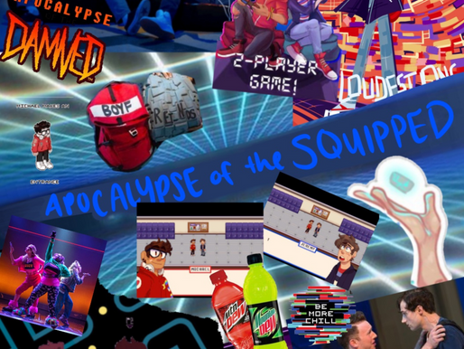 """""""Apocalypse of the Squipped: A Two-Player Game"""" Mobile Game Concept"""