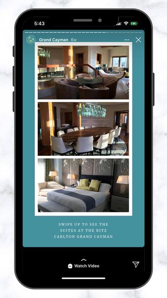 CSC Ritz Carlton Suites Swipe Up IG Story