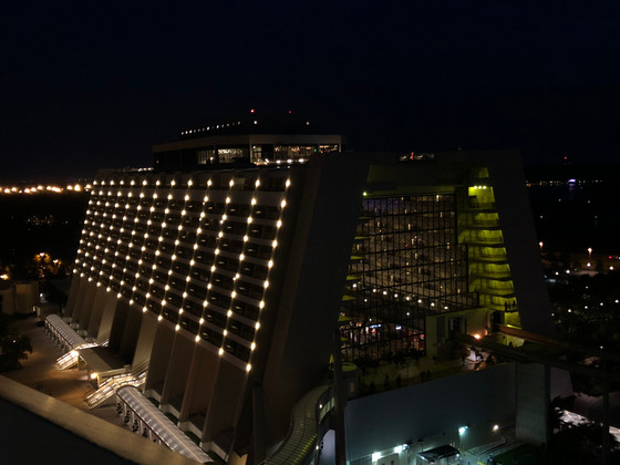 The Contemporary at Night