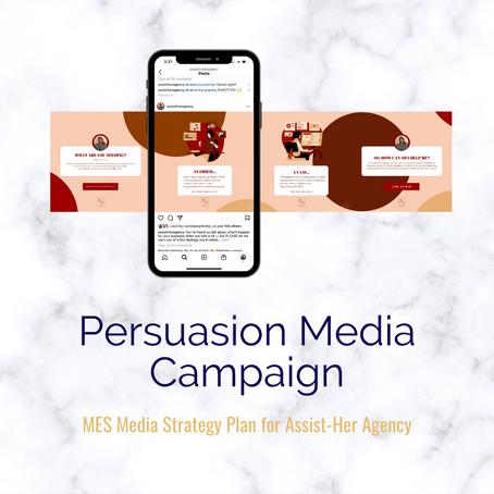 Persuasion Media Campaign