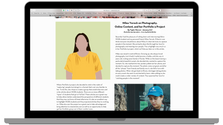 Mockup of Milea's Article for the Signat