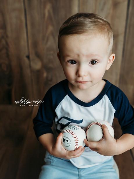 Barrett - Studio Portrait Session | Melissa Rosic Photography, WV Family Photographer